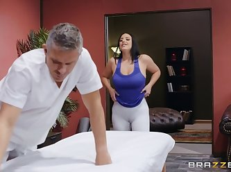 Dirty masseur angela white assentia oil XXX