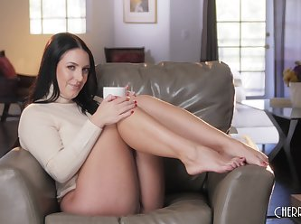 Cps angela white its coffee time 4k