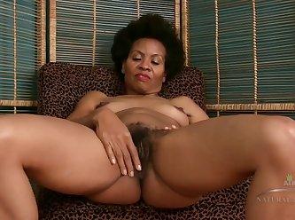 Ebony Hairy Milf