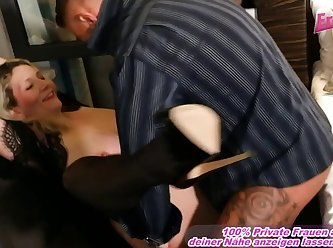 German Amateur Mom With Big Boobs Fuck Son At Window 720p