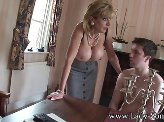 Busty Housewife Seduces Young Guy 480